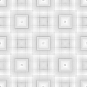 Blended White and Gray Squares