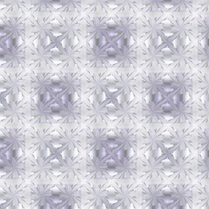 Blue-violet and White Pinched Squares