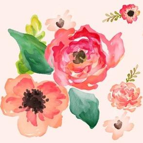 "9"" Floral Dreams / PINK"