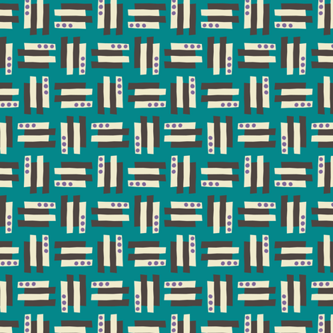 Lilliput Geo fabric by zesti on Spoonflower - custom fabric