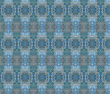 Boho Blues fabric by chinaberries_studio on Spoonflower - custom fabric