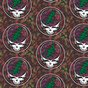 Steal Your Face2 Stealie Green Bolt Grateful Dead