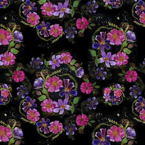 Night Bloom Grunge