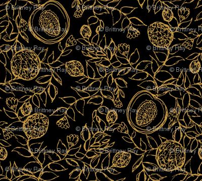 Cantaloupes Simple Black