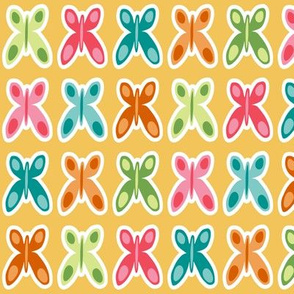 Colorful Butterflies (Afternoon)