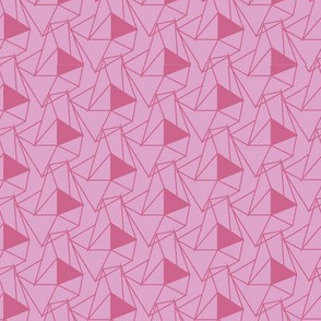 Triangle Miniature Pink