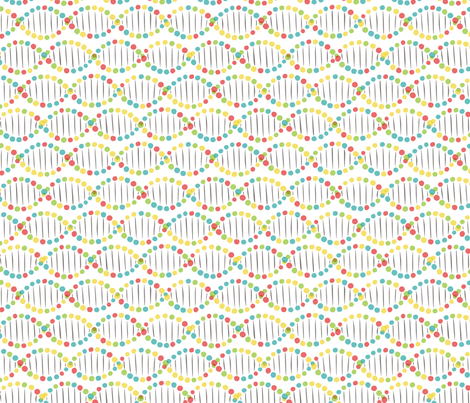 color DNA rotated fabric by minimiel on Spoonflower - custom fabric
