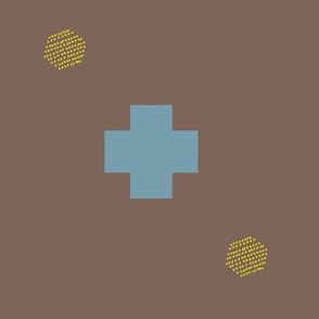 Geometric Cross Brown