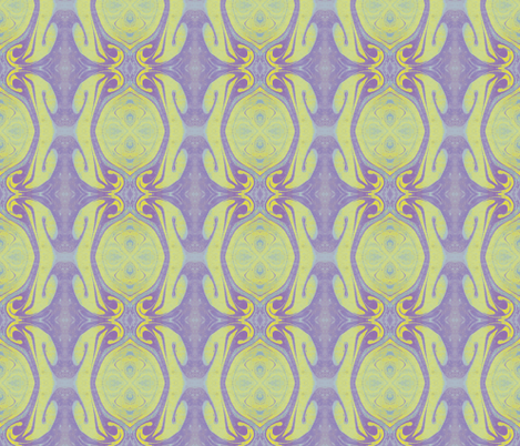 Purple-Blue_Yellow Mixture fabric by elise_camp on Spoonflower - custom fabric