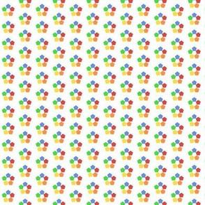 Pentagons - Rainbow