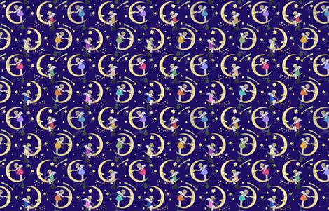 Charming_the_Moon fabric by carolyn_grossman on Spoonflower - custom fabric