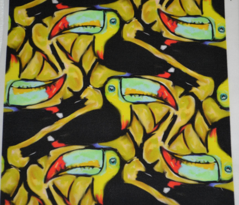 Toucans Tangled Tightly