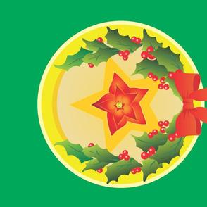 Yule Poinsettia Star