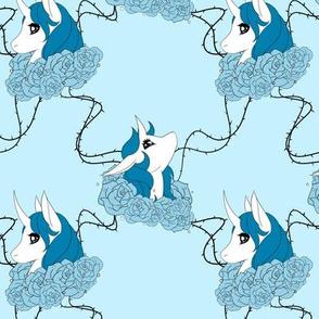 Blue Rose Unicorns