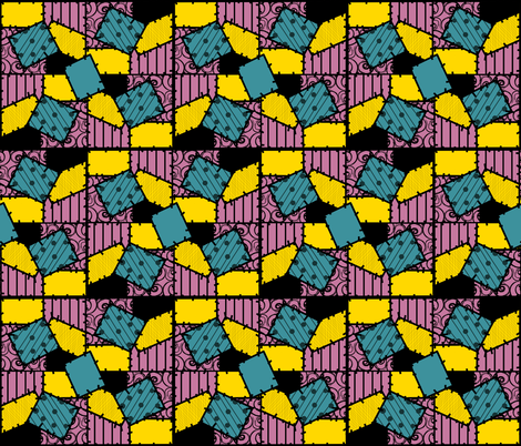 Sally fabric by geekybands on Spoonflower - custom fabric