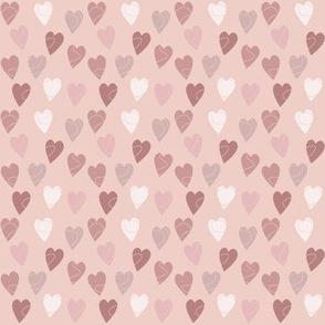 Linehearts Pink
