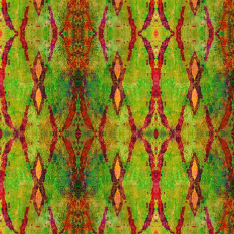 Rusty Trellis fabric by chinaberries_studio on Spoonflower - custom fabric