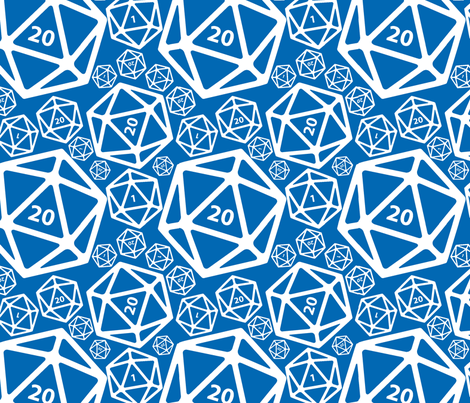 Win Some, Lose Some - ROYAL fabric by melpoemene on Spoonflower - custom fabric