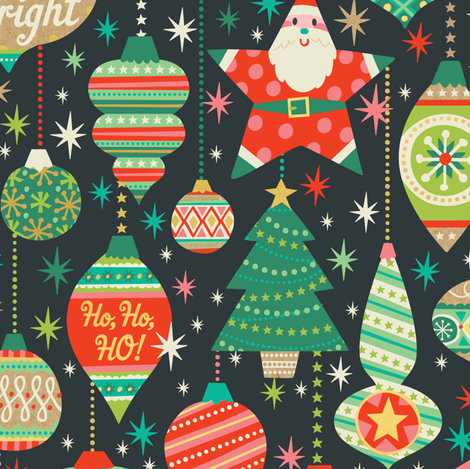 Ornaments fabric by laura_mayes on Spoonflower - custom fabric