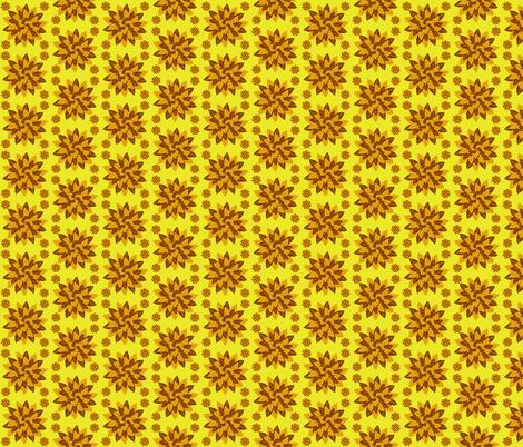 Autumn leaves fabric by squeakyangel on Spoonflower - custom fabric