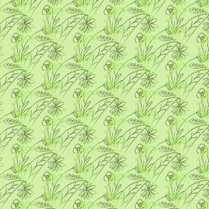 Garden in Green