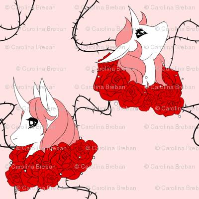 Red Rose Unicorn
