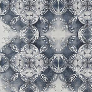 paynes gray mandala