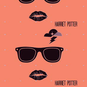 Harriet Potter Peach
