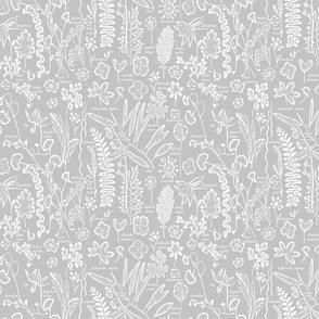 Collectors Sketchbook grey sm w text
