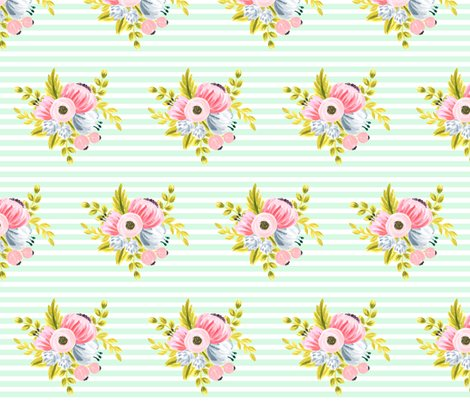 Rhorizontalstripefloral_mint_shop_preview