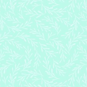 Minty Green Sprigs small