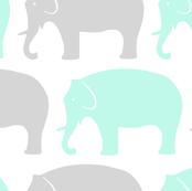 mint-and-grey-elephants