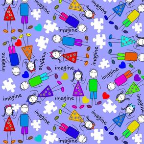 Autism Kids Puzzle Pieces II