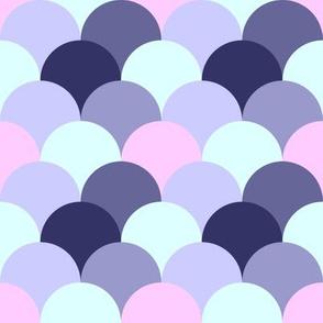 Lilac Scallops