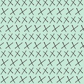 Swiss Cross Stripe Blue