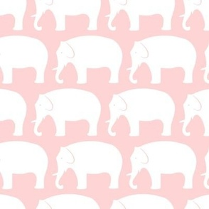 white-and-light-coral-elephants