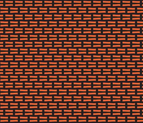 tiny black bacon fabric by remnantsdesignstudio on Spoonflower - custom fabric