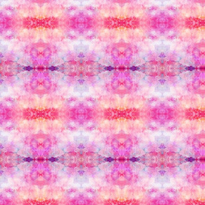 DREAM OF A ORANGE PINK SEA GARDEN soft geometry 2