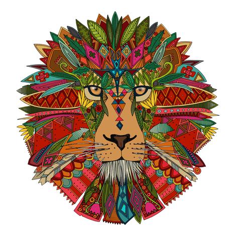 lion swatch fabric by scrummy on Spoonflower - custom fabric