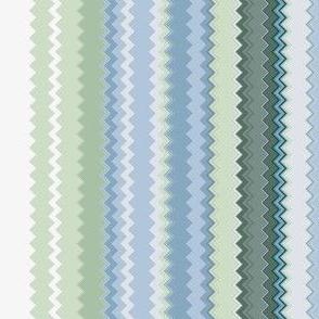 Lines 14 Violets (Chevron)