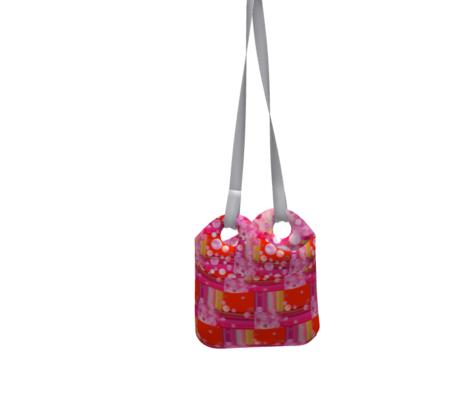 DREAM OF A ORANGE PINK SEA GARDEN Fruity balloon bubbles