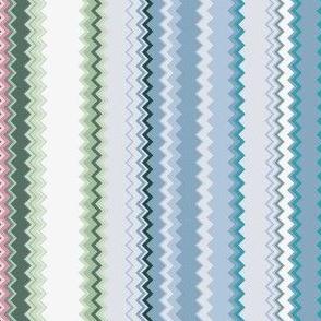 Lines 16 Violets (Chevron)