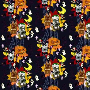 Halloween Tiki - Midnight