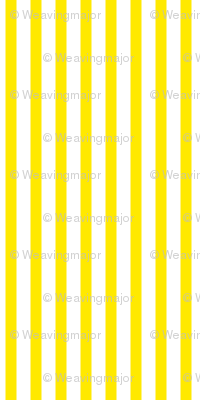 Buttered Popcorn Stripe (bright yellow, large)