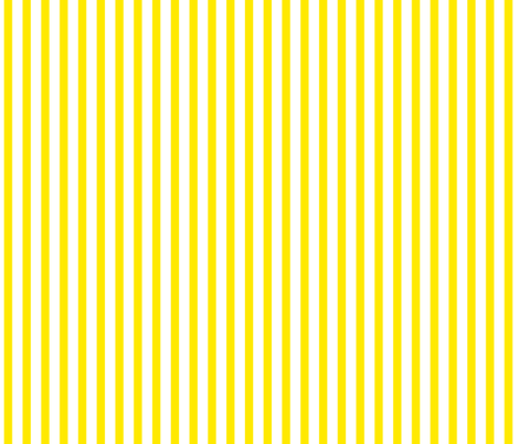 Buttered Popcorn Stripe (bright yellow, large) fabric by weavingmajor on Spoonflower - custom fabric