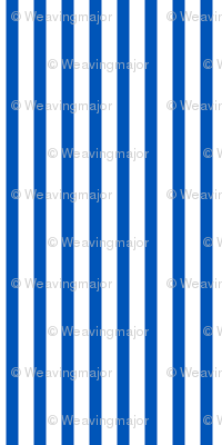 Popcorn Stripe (picnic blue, large)