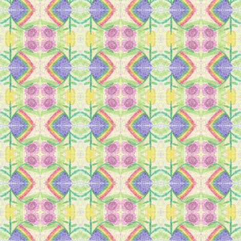 floral_water_marker_effect_8_20_2015 fabric by compugraphd on Spoonflower - custom fabric