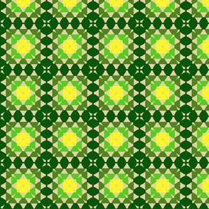 granny square greens
