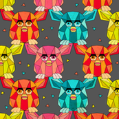 Invasion of the Geometric Furby