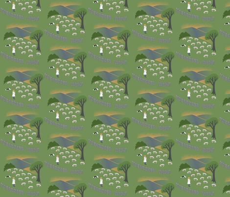 Shepherd fabric by amyperrotti on Spoonflower - custom fabric